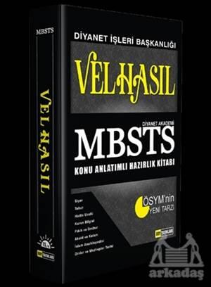 Velhasıl MBSTS Konu Anlatımlı Hazırlık Kitabı