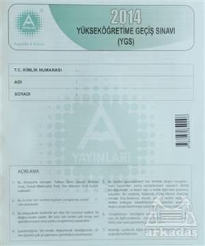 2014 Yüksek Öğretime Geçiş Sınavı (Ygs)