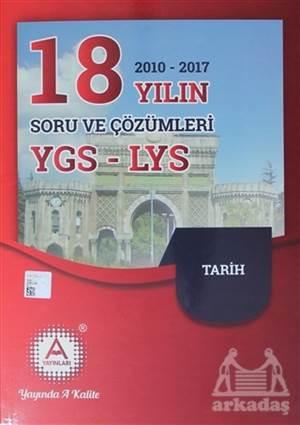 2018 YGS - LYS Tarih 18 Yılın Soru Ve Çözümleri