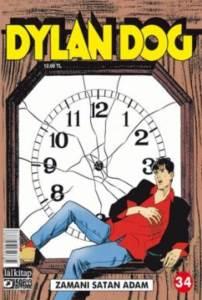 Dylan Dog Sayı 34 Zamanı Satan Adam