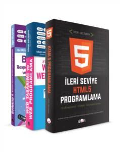 Responsıve Web Tasarım Ve Frond - End & Back - End Programlama Eğitim Seti