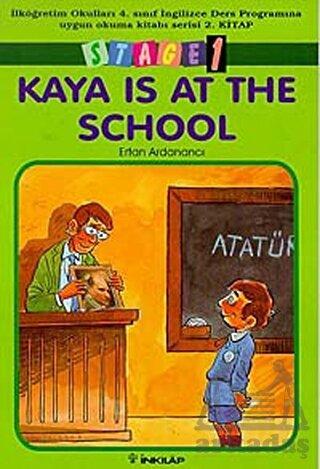 Kaya Is At School (4.sınıf 2.kitap)