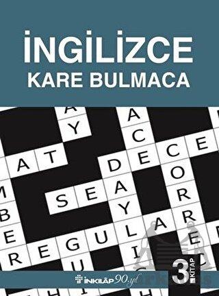 İngilizce Kare <br/>Bulmaca 3.Kitap