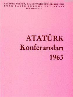 Atatürk Konferansları; 1963