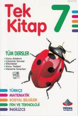 Tek Kitap 7. Sınıf Tüm Dersler