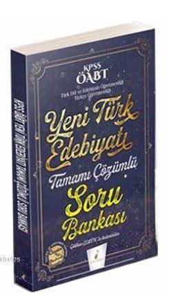 KPSS ÖABT Yeni Türk  Edebiyatı Tamamı Çözümlü Soru Bankası