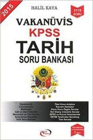 Vakanüvis KPSS Tarih Soru Bankası 2015