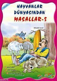 Hayvanlar Dünyasından Masallar (5 Kitap, Takım); 5 Yaş Ve Üstü