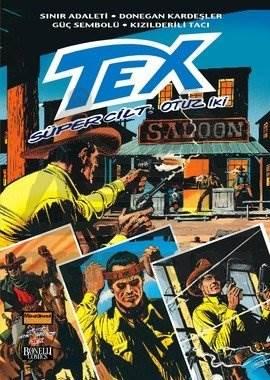 Tex Süper Cilt 32; (Sınır Adaleti - Donegan Kardeşler - Güç Sembolü - Kızılderili Tacı)