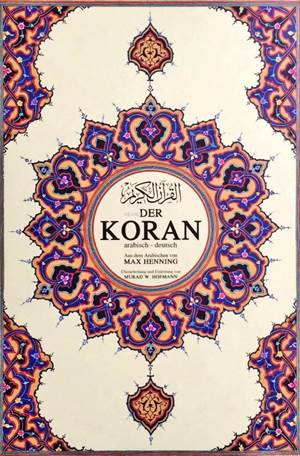Der Koran Kur'ân-I Kerîm Ve Almanca Meali  (Süper Mega Boy, Şamua Kâğıt, Ciltli)