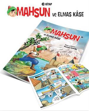 Mahsun'un Maceraları- 3 Elmas Kâse Çizgi Roman- 2237