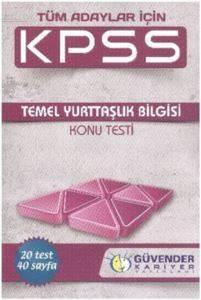 KPSS Temel Yurttaşlık Konu Testi