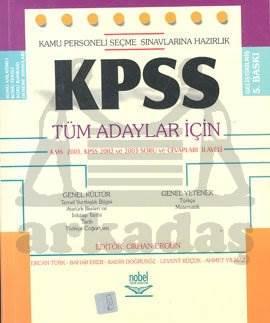 2005 KPSS Tüm Adaylar İçin KMS 2001, KPSS 2002 ve 2003 Soru ve Cevapları İlaveli