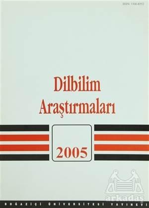 Dilbilim Araştırmaları 2005