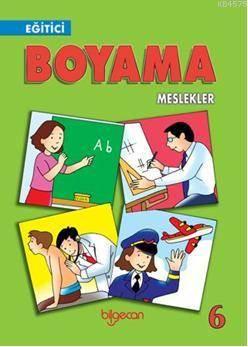 Eğitici Boyama  6; Meslekler