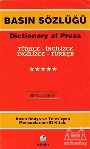 Basın Sözlüğü / Dictionary Of Press