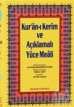 Orta Boy Kur'An-I Kerim Ve Açıklamalı Yüce Meali (3'Lü)