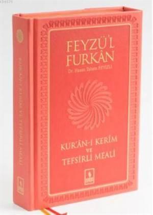 Feyzü'l Furkan Kur'an-I Kerim Ve Tefsirli Meali - Büyük Boy - Sert Cilt