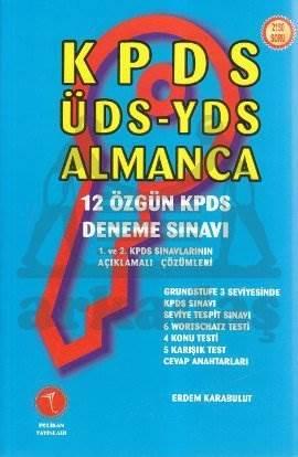 KPDS-ÜDS-YDS Alman ...