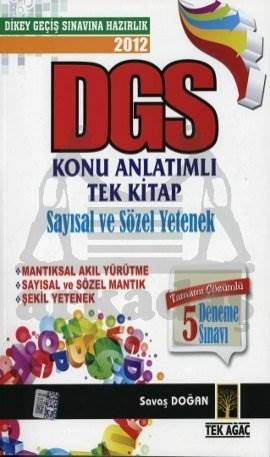 Tekağaç DGS K.A. Tek Kitap