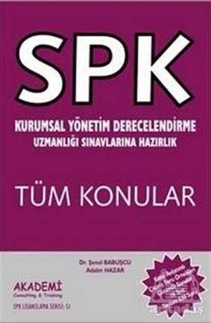 SPK Kurumsal Yönetim Derecelendirme Uzmanlığı Sınavlarına Hazırlık Tüm Konular