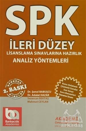 SPK İleri Düzey Lisanlama Sınavlarına Hazırlık Analiz Yöntemleri