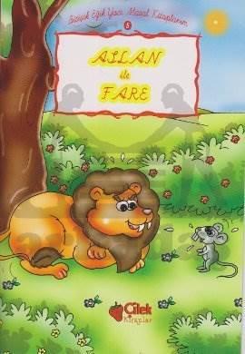 Aslan ile Fare 5; Bitişik Eğik Yazı Masal Kitaplarım