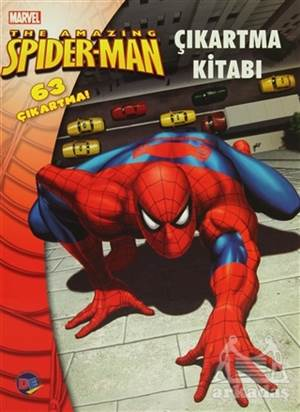 The Amazing Spiderman Çıkartma Kitabı