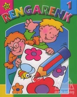 Rengarenk 1 Boyama Kitabı