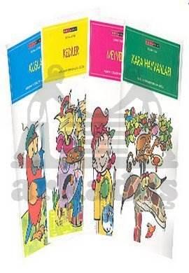 Boyama Kitabı (8 Kitap Takım)