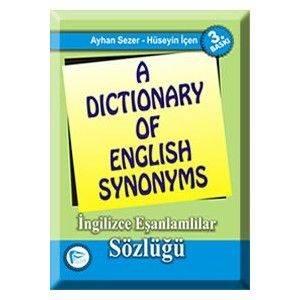 A Dictionary of English Synonyms; İngilizce Eşanlamlılar Sözlüğü