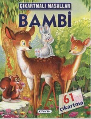 Çıkartmalı Masallar - Bambi