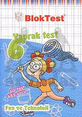 6.Sinif Bloktest Fen Teknoloji Yaprak Test
