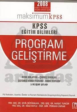 KPSS Eğitim Bilimleri Program Geliştirme
