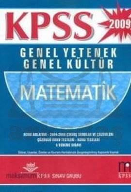KPSS 2009 Genel Yetenek Genel Kültür Matematik