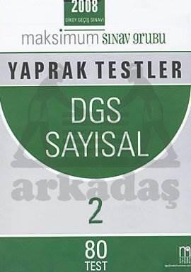 DGS Sayısal 2 Yaprak Testler