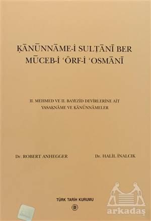 Kanunname-İ Sultani Ber Muceb-İ Örf-İ Osmani