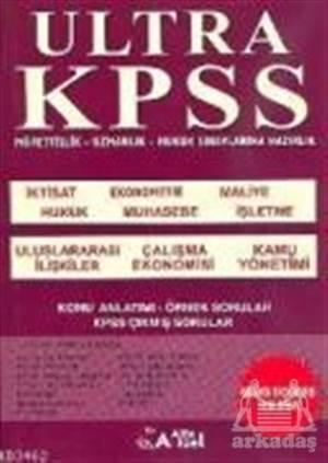 Ultra KPSS Müfettişlik - Uzmanlık - Hukuk Sınavlarına Hazırlık