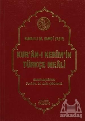 Kur'an-I Kerim'in Türkçe Meali (Orta Boy)