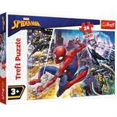 Fearless Spiderman ...