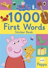 Peppa Pig: 1000 <br/>First Words S ...
