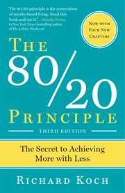 The 80/20 Principl ...