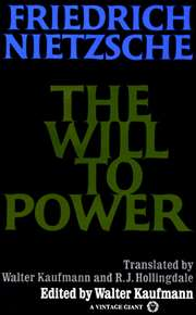 The Will to Power