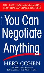 You Can Negotiate  ...