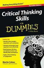Critical Thinking  ...