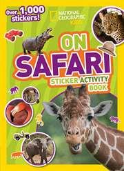 On Safari Sticker  ...