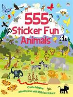 555 Sticker Fun: A ...