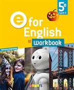 E For English 5E <br/>Workbook